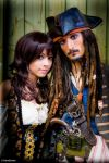 Angelica Teach and Jack Sparrow by Ryuux3