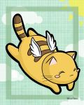 Flying kitty by melissah84