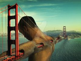 Golden gate man by p3pitoto