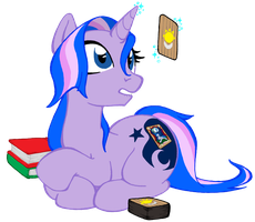 Midnights Reading by Inkwell-Pony