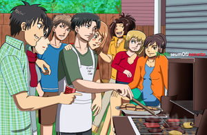 Shingeki no Barbeque ~ Attack on Titan by TheMuseumOfJeanette