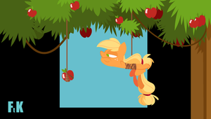 Apple Ropin' Gone Awry Animation by FluttershytheKind