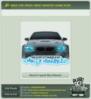 Need for Speed: Most Wanted Icon by CODEONETEAM