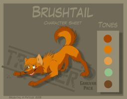 Brushtail - Character Sheet by Skailla