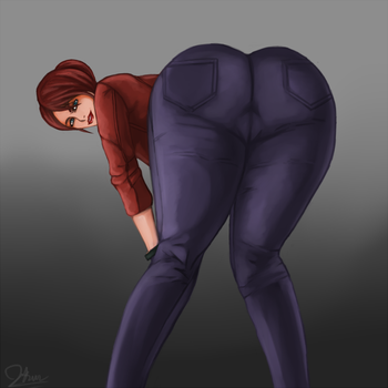 Claire booty. by Johnni-Kun