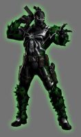 Green Lantern Agent Venom by Lord-Lycan