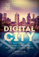 Digital City Flyer by styleWish