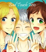 ::Bad Touch Trio:: by milaa-chan