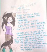 Request from Lina-Wolf: Lina's Bio by ShimmerTheVampfox