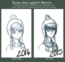 befor after: Winter by TheSnowyDream