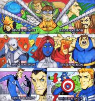 Marvel Beginnings S2 Horizontals by Jayson-kretzer