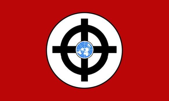 -Fic Flag-  Global Union of Fascist and NatSocs by ColumbianSFR