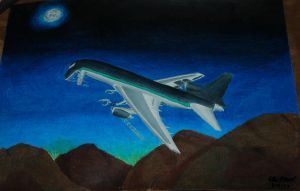 Killer L-1011 flying by concaholic