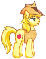 Traditional Art Braeburn by EsckobacthkOi