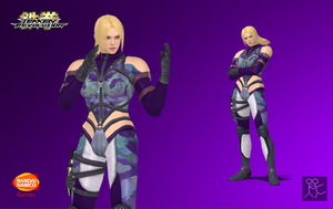Tekken Revolution Nina Williams P1 Default by Sticklove