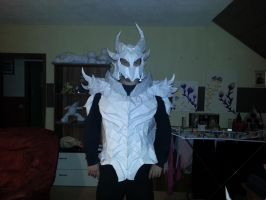 Daedric upper body test fit by Mimo512