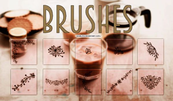Brushes #1 by ashbling
