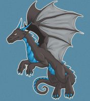 Flying Dragon by AcaciaTree