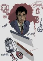 The 10th Doctor Who by Pilgrimwanders
