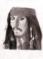 Captain Jack Sparrow by Saphireflames94