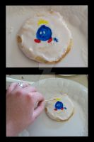 Bob-omb Cookie by PsychoAngel51402