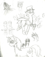MLP Sketches 2 by Prism-S