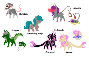Custom mlp Species *CLOSED* (for now) by TheFallingpiano