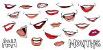 Let's Draw... Mouths! by ashesto