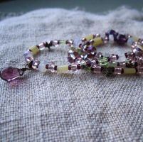 Praesepe Gemstone Necklace by stellachan