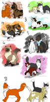Gift: Glee Project Kitty Sketches by TheNekoHufflepuff