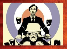Quadrophenia Painting -99.00 by Hodgy-Uk