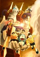Nobita and the Steel Troops by CocopiE