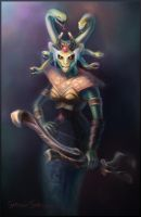 DotA 2, Medusa by DariaDesign