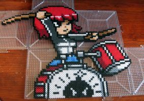 Kim Pine Bead Art by emelyjensen