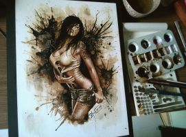 Inked Babe by Kaffeines