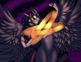 The Universe is Hers to Control by Dragon-Mordak