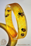 Delphi - resin bangle. by kerinewton