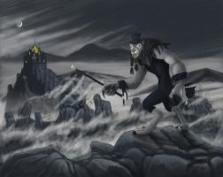 Worgen Above a Sea of Fog by cmasse