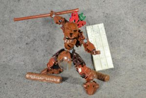 Toa Cocoa: Bionicle MOC by welcometothedarksyde