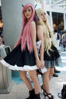 Vocaloid Luka and SeeU by EriTesPhoto