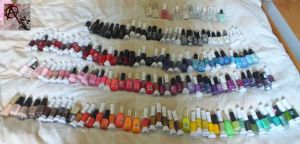 Nail Varnish Collection Update by AnarchyAi