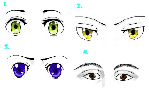 Anime Eyes by Shariot20