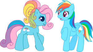 G4 Meets G3.5: Rainbow Dash by LudiculousPegasus