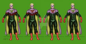 Power Ring - Variations by Walfiend2