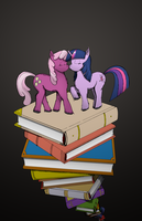 Bookish Love. by dreamingnoctis