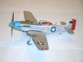 P-51D Mustang by sentinel28a