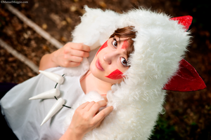 Wolf spirits. Princess Mononoke cosplay. by Giuzzys