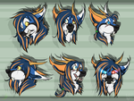 Lea faces by phenoxfire