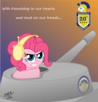 20th ERAD Recruitment Poster - Pinkie by ProfessorBasil