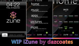 iZune theme for iphone WIP by darren-coates